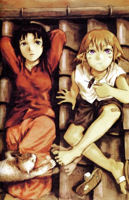 Yoshitoshi Abe, NieA_7, Gaisokyu, NieA (Character), Mayuko Chigasaki