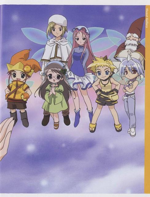 Koge Donbo, A Little Snow Fairy Sugar, Ginger (A Little Snow Fairy Sugar), Elder Choro-sama, Pepper (A Little Snow Fairy Sugar)