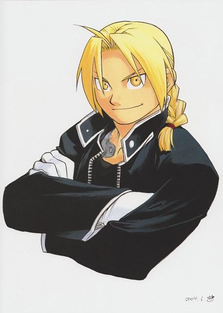 Hiromu Arakawa, Fullmetal Alchemist, Fullmetal Alchemist Artbook Vol. 2, Edward Elric