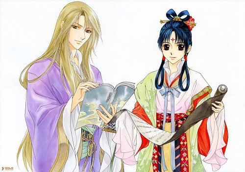 Kairi Yura, Madhouse, Saiunkoku Monogatari, Saiunkoku Monogatari Illustrations, Ryuuki Shi