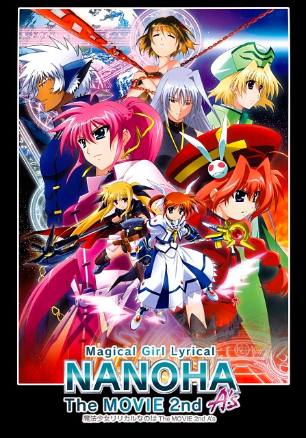 Seven Arcs, Mahou Shoujo Lyrical Nanoha, Fate Testarossa, Vita, Hayate Yagami