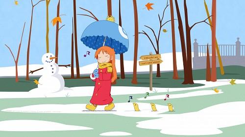 Keiichi Arawi, Kyoto Animation, Nichijou, Hakase Shinonome Wallpaper