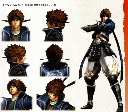 Capcom, Sengoku Basara 4 Official Complete Works, Sengoku Basara, Yukimura Sanada, Character Sheet