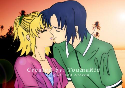 Sunrise (Studio), Mobile Suit Gundam SEED Destiny, Athrun Zala, Cagalli Yula Athha, Member Art