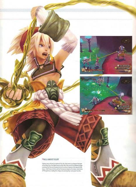 Square Enix, World of Mana, Newtype Magazine