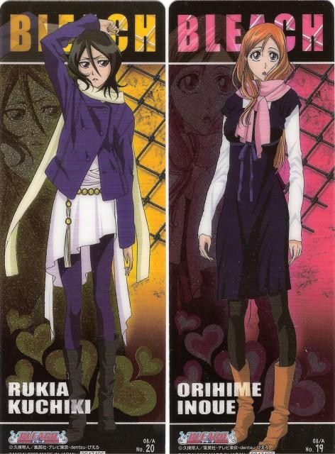 Studio Pierrot, Bleach, Orihime Inoue, Rukia Kuchiki, Stick Poster