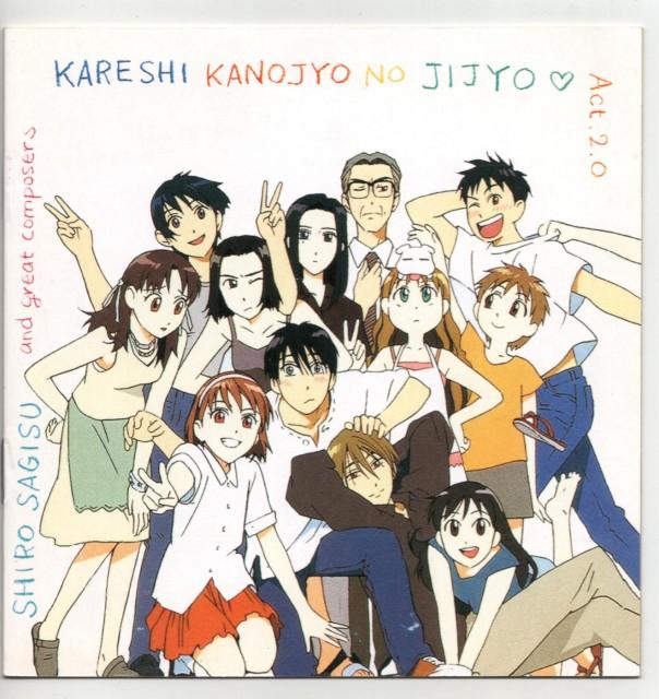 Gainax, J.C. Staff, Kare Kano, Peropero, Tsubasa Shibahime