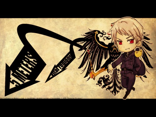 Hidekaz Himaruya, Studio DEEN, Hetalia: Axis Powers, Prussia, Gilbird Wallpaper
