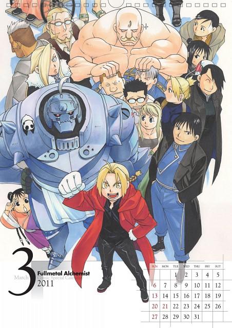 Hiromu Arakawa, BONES, Fullmetal Alchemist, Alphonse Elric, Olivier Mira Armstrong