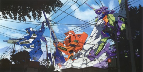 Yoshiyuki Sadamoto, Neon Genesis Evangelion, Die Sterne, Unit-02, Unit-00