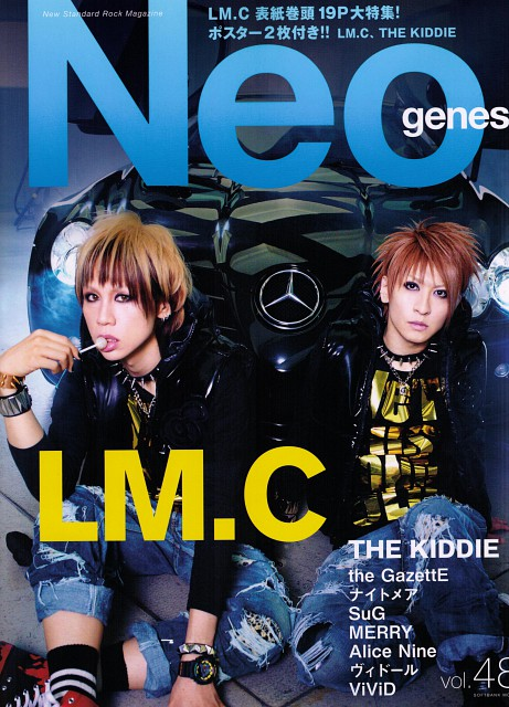 maya, Aiji, LM.C, Magazine Covers