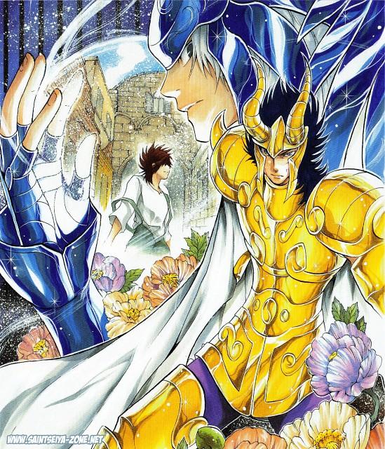 Shiori Teshirogi, Saint Seiya: The Lost Canvas, Oneiros, Capricorn El Cid, Pegasus Tenma