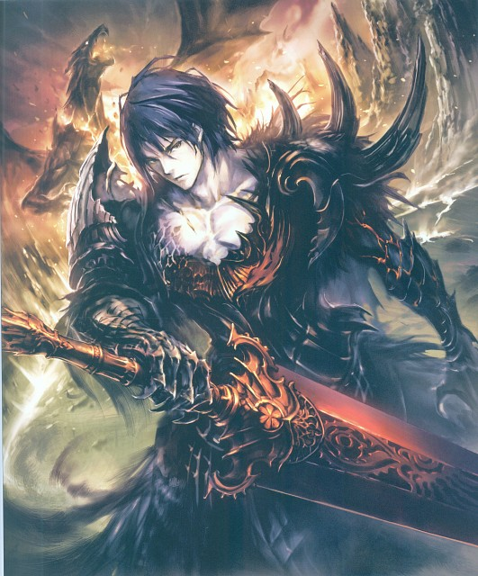 Souji Hisakata, Cygames, Rage of Bahamut: Official Artwork, Rage of Bahamut