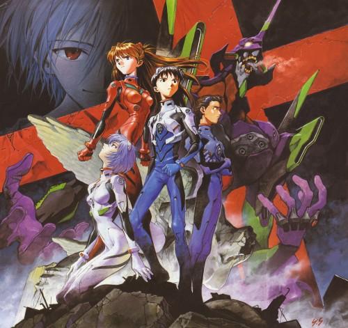 Yoshiyuki Sadamoto, Neon Genesis Evangelion, Der Mond, Toji Suzuhara, Shinji Ikari