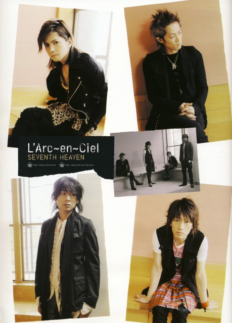 Ken Kitamura, Tetsuya Ogawa, Hyde (J-Pop Idol), L'Arc~en~Ciel, Yukihiro Awaji