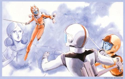 Sunrise (Studio), Mobile Suit Gundam 0079, Mobile Suit Gundam - Universal Century, Char Aznable, Amuro Ray