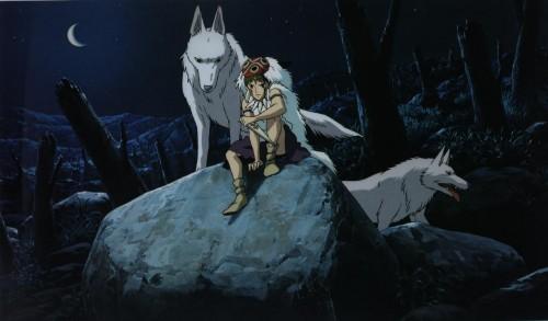 Kazuo Oga, Studio Ghibli, Princess Mononoke, Moro, San