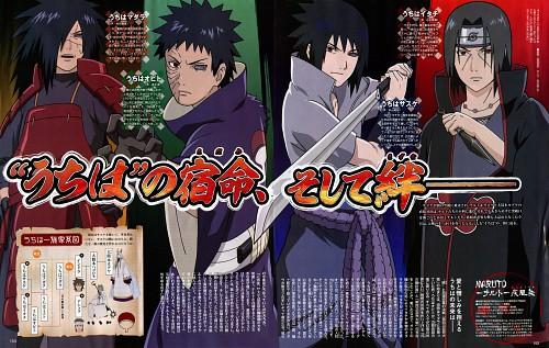 Naruto, Obito Uchiha, Madara Uchiha, Sasuke Uchiha, Itachi Uchiha