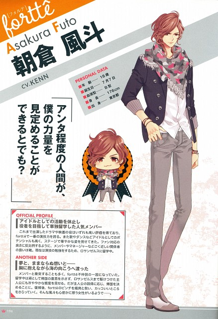 Udajo, Idea Factory, Fortissimo Official Artworks, Fortissimo (Udajo), Brothers Conflict