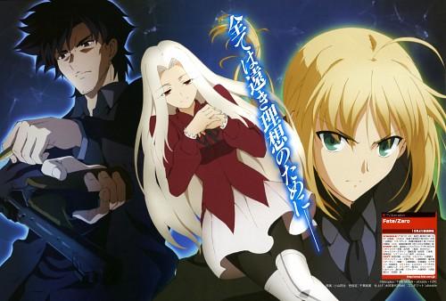 TYPE-MOON, Ufotable, Fate/Zero, Saber, Irisviel von Einzbern