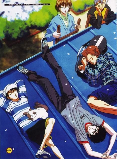 Takeshi Konomi, J.C. Staff, Prince of Tennis, Jirou Akutagawa, Akaya Kirihara