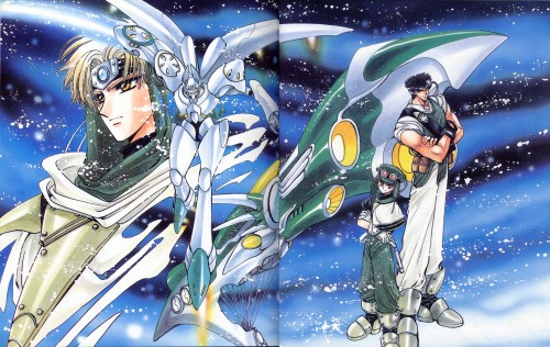 CLAMP, TMS Entertainment, Magic Knight Rayearth, Magic Knight Rayearth 2 Illustrations Collection, Eagle Vision