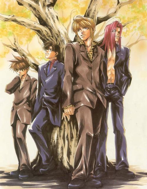 Kazuya Minekura, Studio Pierrot, Saiyuki, Backgammon 2, Cho Hakkai