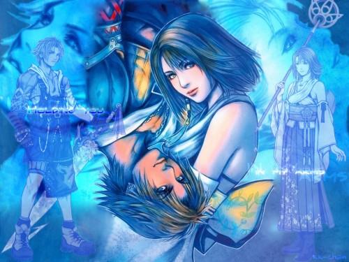 Square Enix, Final Fantasy X, Tidus, Yuna Wallpaper