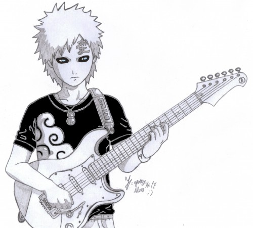 Naruto, Gaara, Member Art