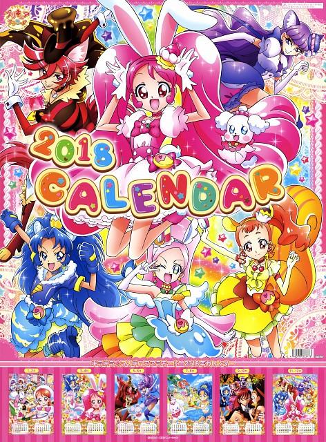 Toei Animation, Kirakira Precure A La Mode, Cure Custard, Cure Whip, Pekorin