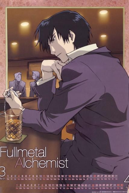 Hiromu Arakawa, BONES, Fullmetal Alchemist, Roy Mustang, Calendar
