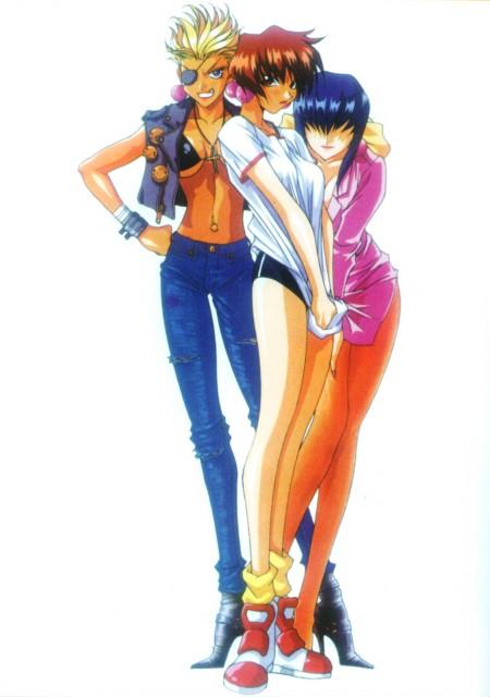 Satoru Akahori, Saber Marionette, Panther (Saber Marionette), Tiger (Saber Marionette), Luchs