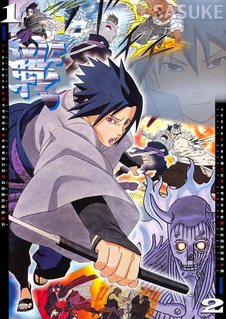 Masashi Kishimoto, Naruto, Itachi Uchiha, Danzou Shimura, Sasuke Uchiha