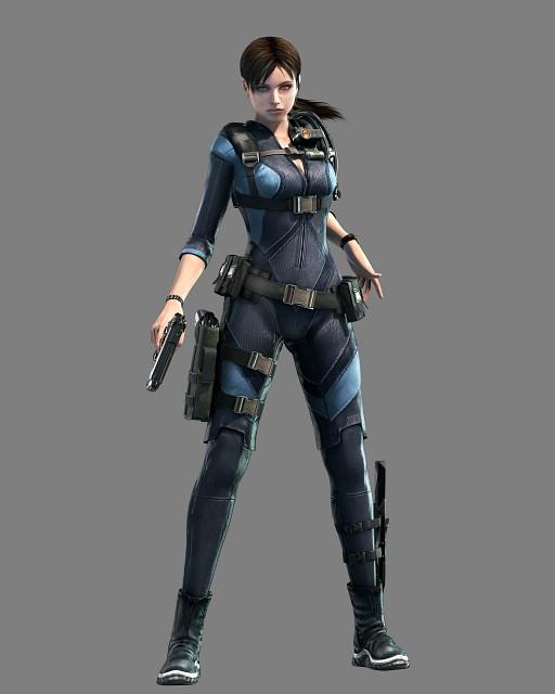Capcom, Resident Evil: Revelations, Jill Valentine, Official Digital Art