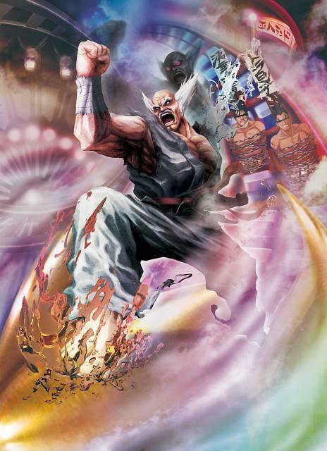 Street Fighter x Tekken, Heihachi Mishima