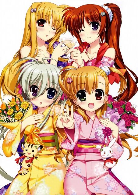 Takuya Fujima, Mahou Shoujo Lyrical Nanoha Vivid, Takuya Fujima Illustrations ViVidgirls, Einhart Stratos, Vivio Takamachi