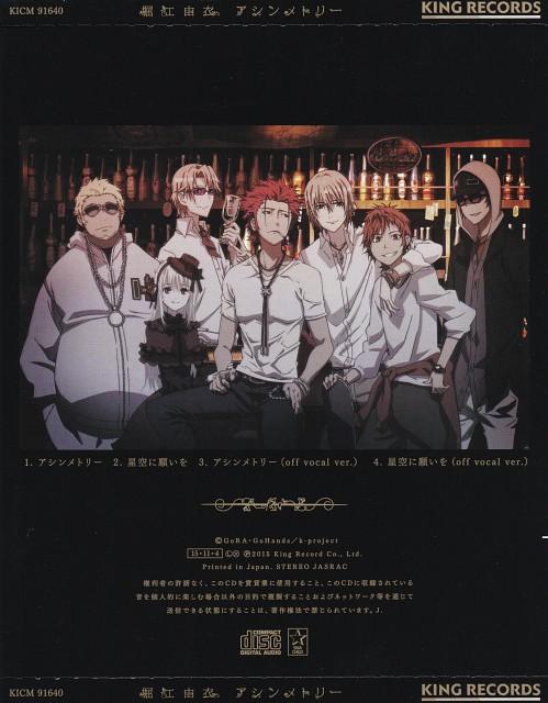GoHands, K Project, Rikio Kamamoto, Anna Kushina, Saburouta Bandou