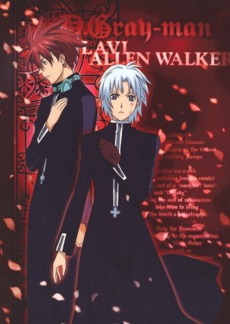 TMS Entertainment, D Gray-Man, Lavi, Allen Walker