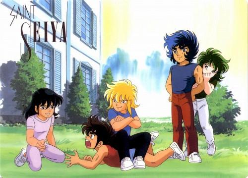 Masami Kurumada, Toei Animation, Saint Seiya, Dragon Shiryu, Phoenix Ikki