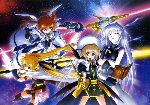 Seven Arcs, Mahou Shoujo Lyrical Nanoha, MSLN The Movie 2nd A's Visual Collection Second, Nanoha Takamachi, Fate Testarossa