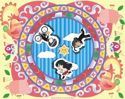 School Rumble, Ouji Karasuma, Kenji Harima, Tenma Tsukamoto