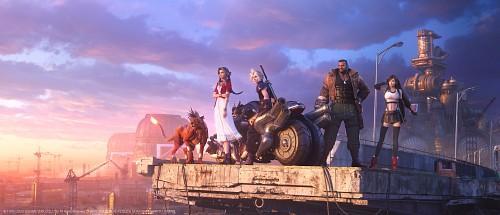 Square Enix, Final Fantasy VII, Cloud Strife, Barret Wallace, Aerith Gainsborough