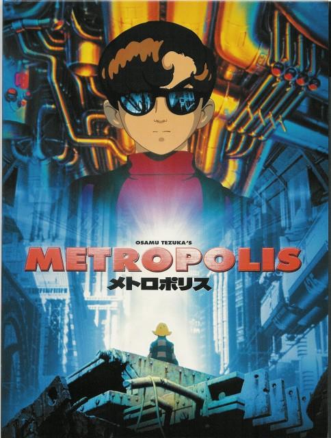 Osamu Tezuka, Madhouse, Metropolis, Tima, Rock Holmes