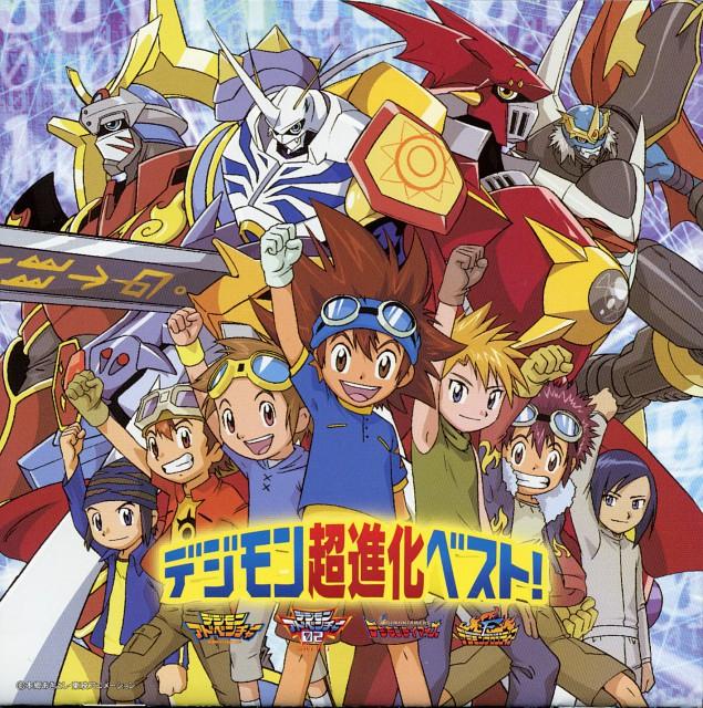Toei Animation, Digimon Frontier, Digimon Tamers, Digimon Adventure, Taichi Yagami