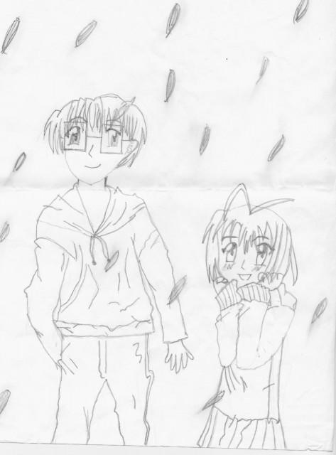 Ken Akamatsu, Love Hina, Keitaro Urashima, Member Art