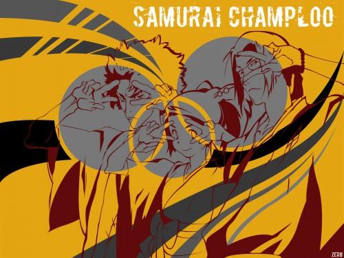 Samurai Champloo, Jin, Fuu, Mugen Wallpaper