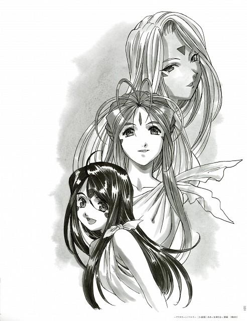 Kousuke Fujishima, Anime International Company, Ah! Megami-sama, Skuld, Urd