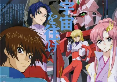 Sunrise (Studio), Mobile Suit Gundam SEED, Athrun Zala, Kira Yamato, Lacus Clyne