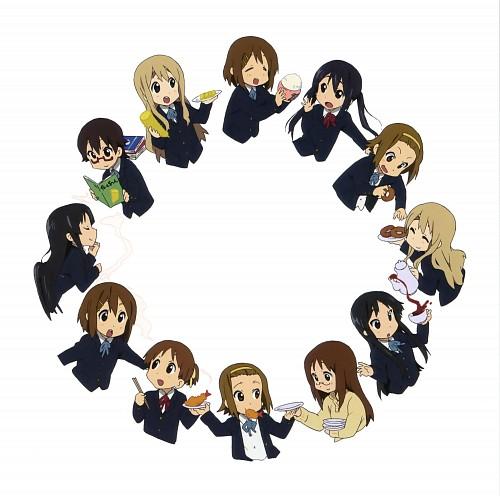 Kyoto Animation, K-On!, Tsumugi Kotobuki, Mio Akiyama, Ritsu Tainaka
