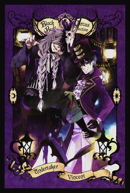 Yana Toboso, A-1 Pictures, Kuroshitsuji, Vincent Phantomhive, Undertaker
